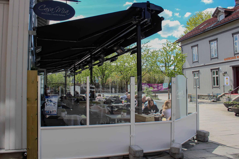 Uteservering Lillestrøm Casa Mia