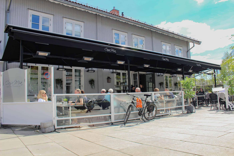 Casa Mia Markise Restaurant Uteservering