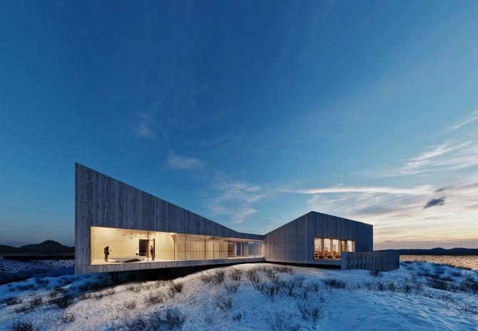 Arkitekt: Ekberg Lous Arkitekter Illustrasjon: © Ekberg Lous Arkitekter Og Dosocreative