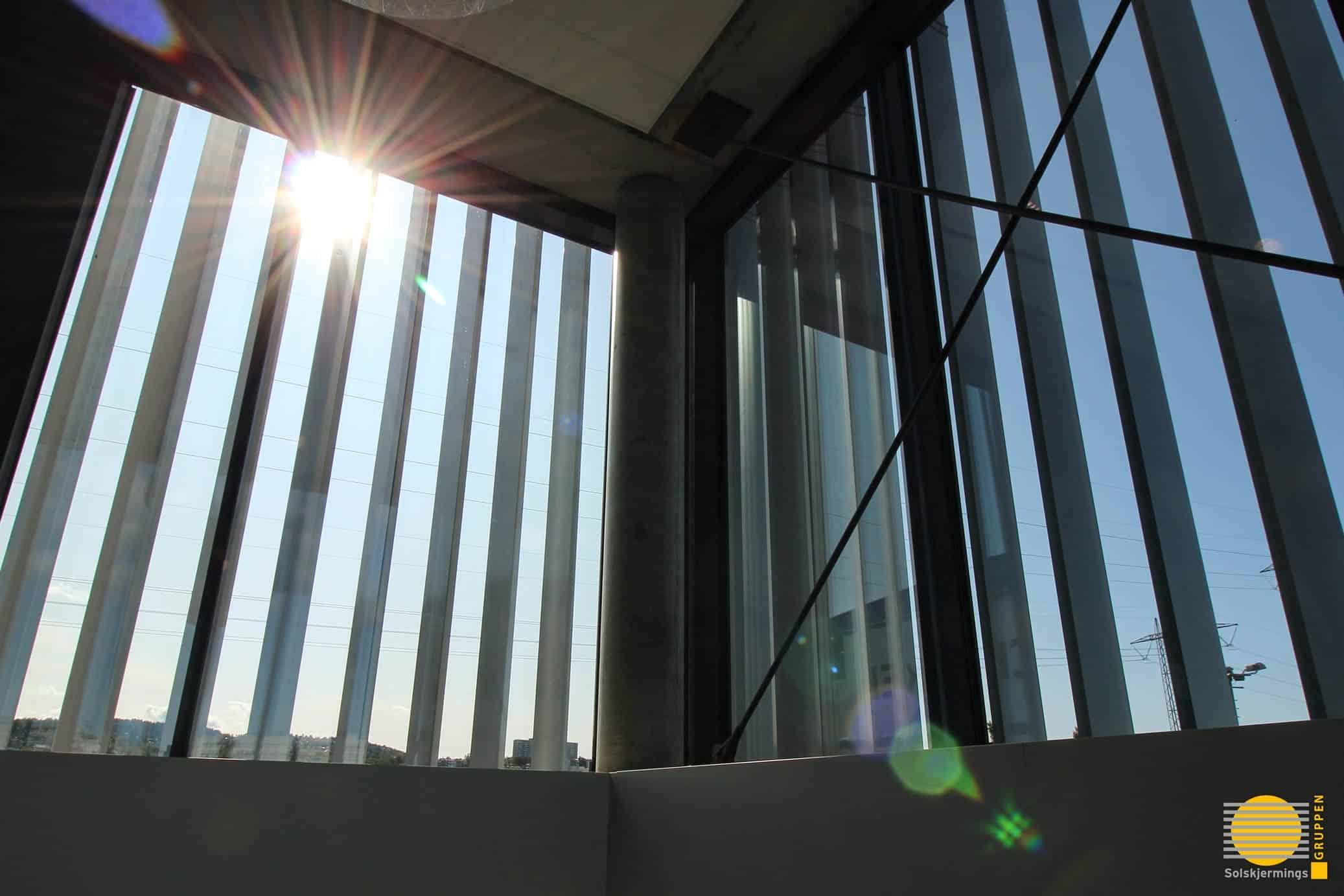 Solskjerming Fra Innsiden