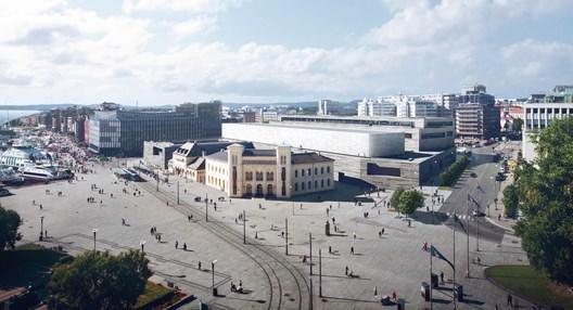 Nye Nasjonalmuseet, Vestbanetomten i Oslo