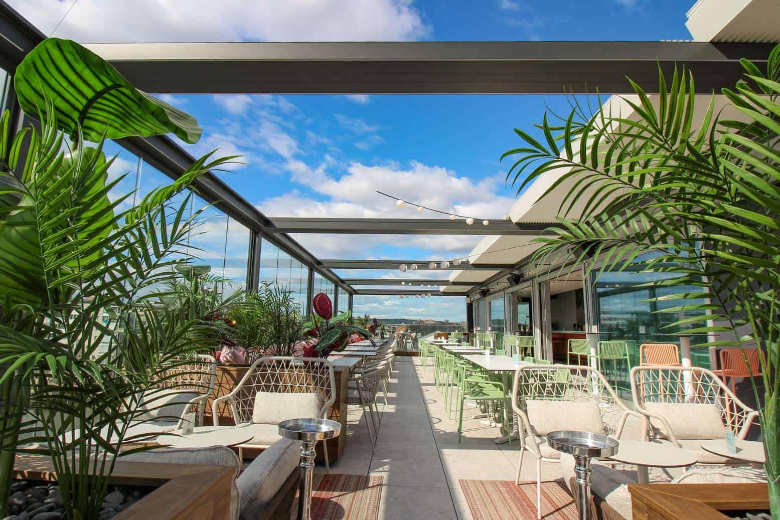 Uteservering: Savoy terrasse