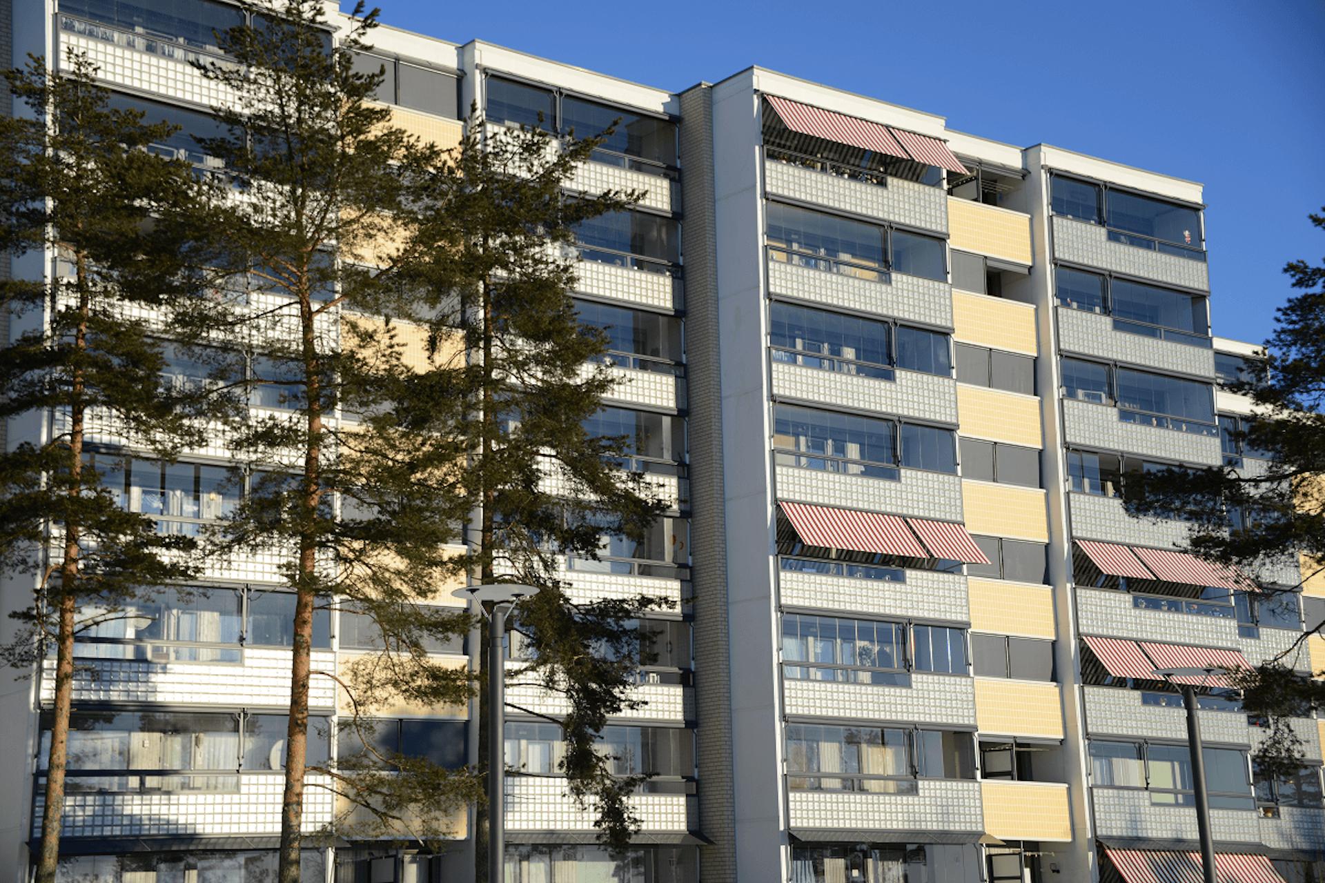 Fasademarkiser Svarttjern Borettslag, Oslo