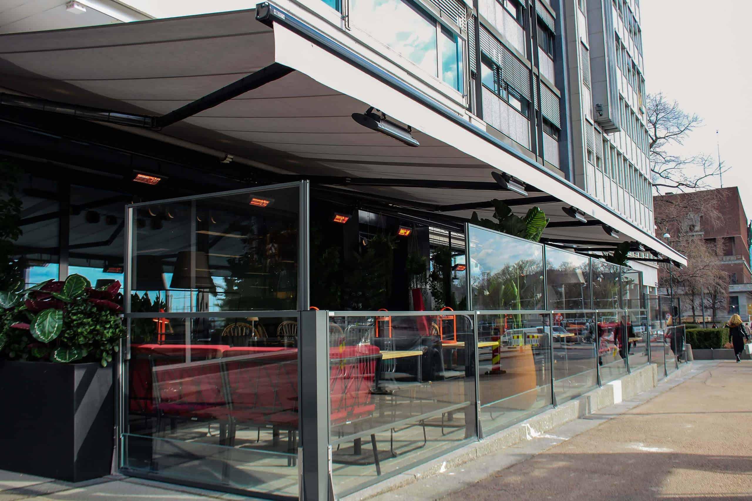 Uteservering Restaurant Aker Brygge Oslo