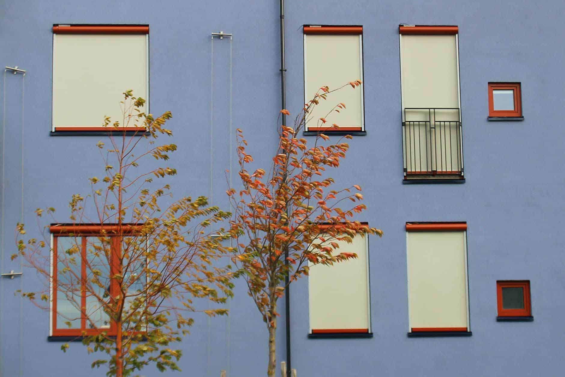 Zip screen bygg og leiligheter